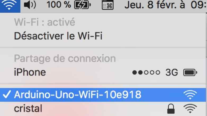 Arduino Uno Wifi Developper Edition